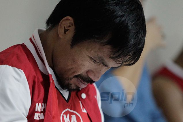 Calf cramps a concern as Manny Pacquiao misses routine roadwork session