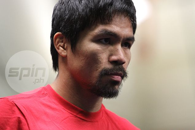 PBA rookie applicant Manny Pacquiao excused from attending pre-draft biometric tests