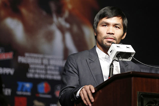 Aiba officials hoping, waiting for Pacquiao to confirm participation in Rio Olympics