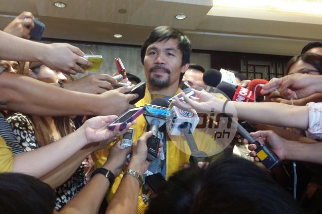 Manny Pacquiao wants law to mandate Filipino athletes to answer call of national team