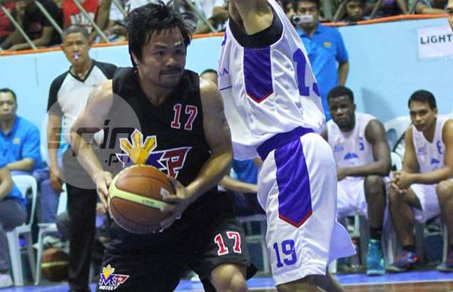 On day he skipped PBA draft camp, Manny Pacquiao and his team lose Davao game