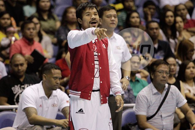 Typhoon Ruby grounds Pacman as Kia playing coach fails to leave GenSan for game vs NLEX