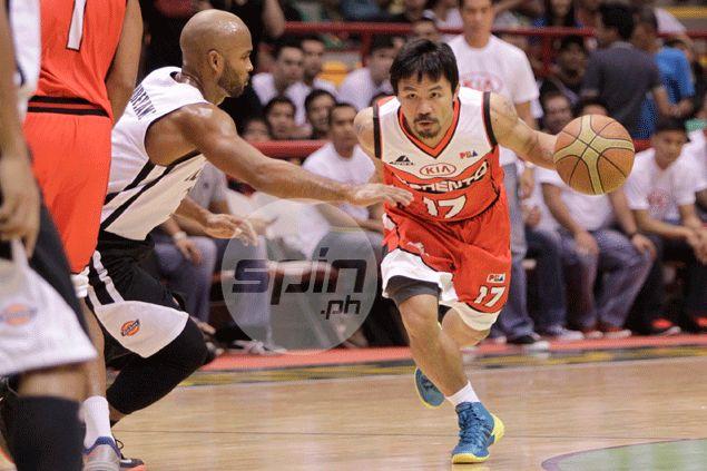 Manny Pacquiao on physicality in PBA: 'Boksing suntukan 'yan eh, iyan pa kaya banggaan lang'