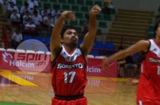 Opponents give no quarter, Pacquiao expected none in PBA preseason debut for Kia