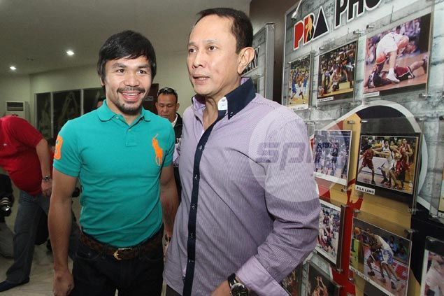 Salud reiterates no special treatment for Pacquiao as PBA rookie hopeful gets biometrics done