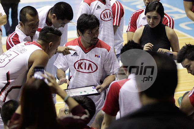 KIA says 'motivator' Pacquiao a great source of inspiration - both as player and coach