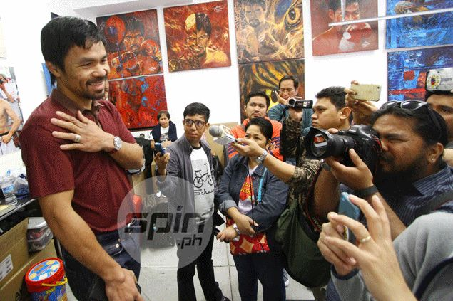 Pacquiao says he's willing to take up Mayweather rematch offer once injury fully heals