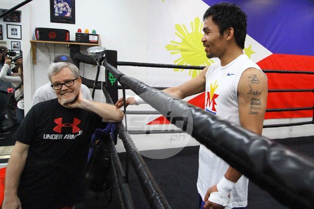 It'll be lights out for Mayweather once Pacquiao lands vaunted left, says Roach