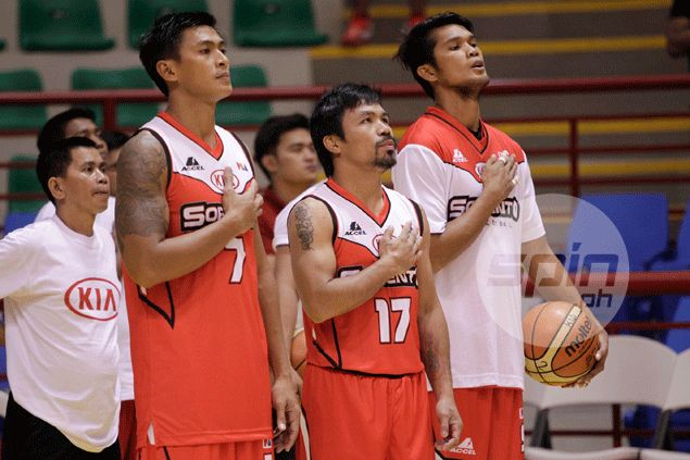 Pacquiao's players set for Macau trip - regardless result of 'championship match' against Barako Bull
