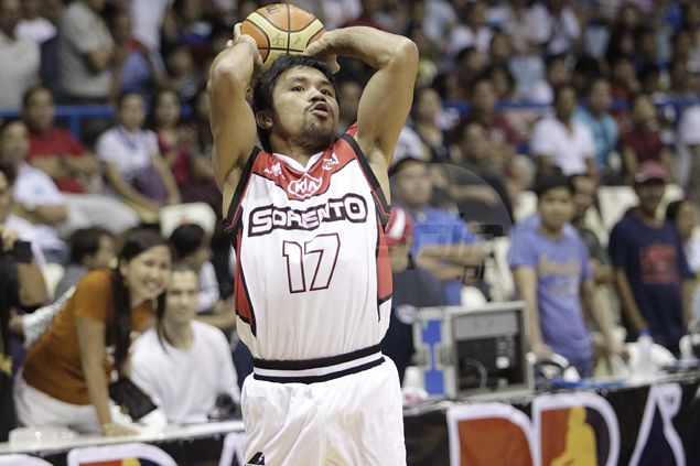 KIA vows playing-coach Manny Pacquiao will play in final make-or-break PBA games