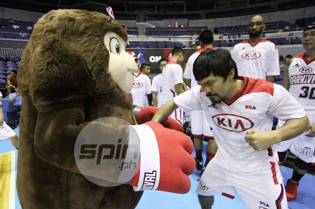 Hold your breath: Pacquiao plans to play one final time before starting buildup for Mayweather fight