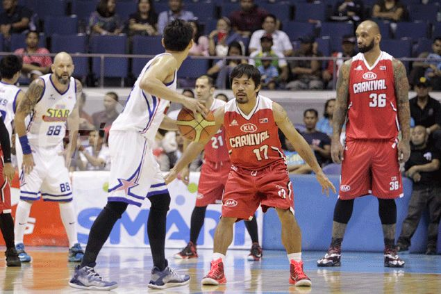 Mayweather camp better not do anything foolish: 'Boy Kapre' PJ Ramos will accompany Pacquiao to the ring