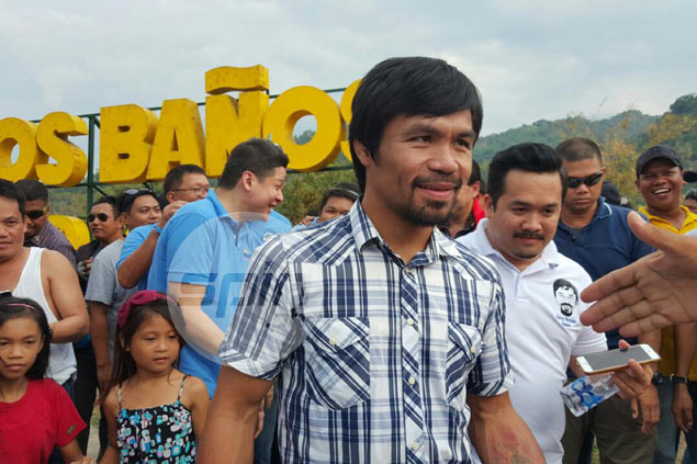 Headed for Senate, Manny Pacquiao urges nation to unite behind new President