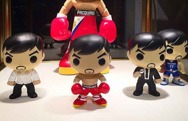 Manny Pacquiao joins ranks of Batman, super heroes with release of Funko POP! toy line