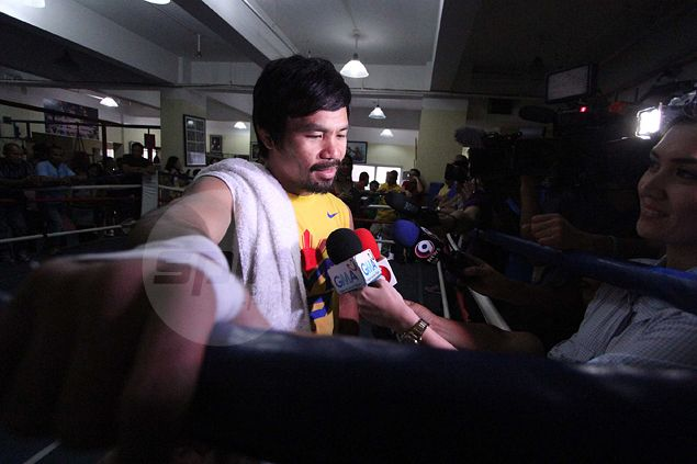 Manny Pacquiao never this focused for a fight since second Erik Morales fight, swear aides