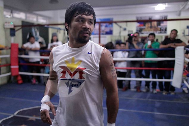 Flurry of activity in and around training camp not an issue for Manny Pacquiao