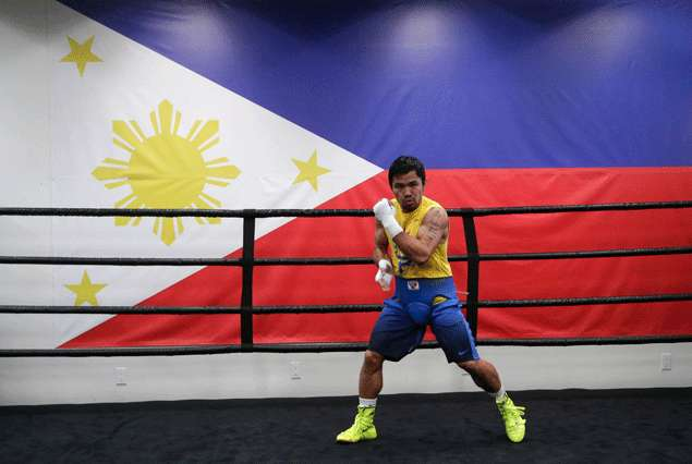 Manny Pacquiao postpones announcement of next opponent for April 9 fight