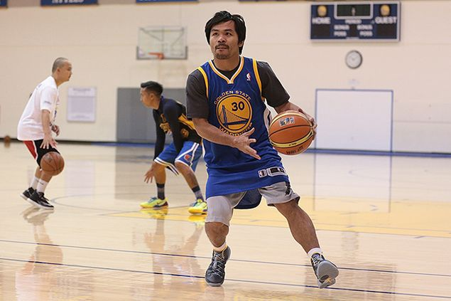 Golden State Warriors fan Manny Pacquiao misses meet up with Steph Curry during Manila visit