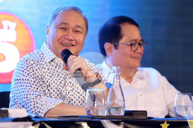 SBP head Manny Pangilinan not ruling out PBA players in Gilas despite return to cadet program