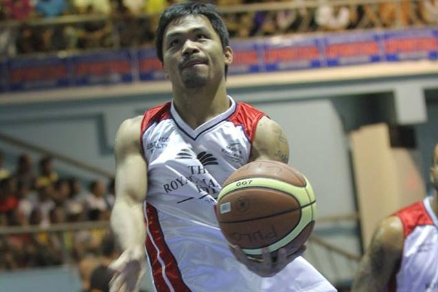 Manny Pacquiao says he has reached deal to be playing coach of new PBA team Kia Motors