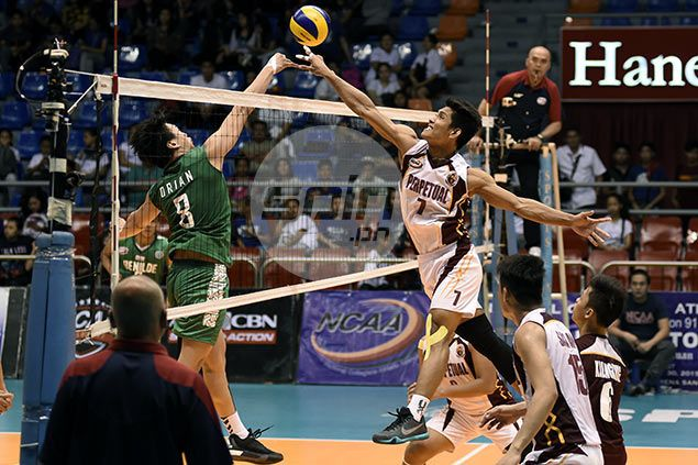 Perpetual Help, EAC spikers renew rivalry by reaching NCAA men's volleyball finals