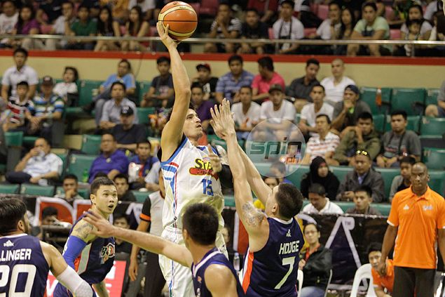 Ailing Marc Pingris braces for tough match-up against 'bigger version' of Blakely
