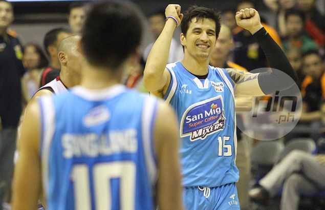 San Mig team to watch final Gilas game in Asiad to show support for teammate Marc Pingris