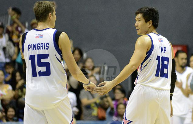 Thanks to Pingris screens and encouragement, Player of the Week James Yap snaps out of shooting slump