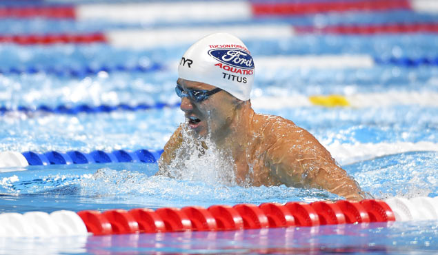 No handicap: Deaf US swimmer on cusp of qualifying for Rio Olympics