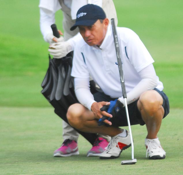 Canlubang rides Hechanova's 51 to seize lead from Luisita in PAL Senior Interclub golf