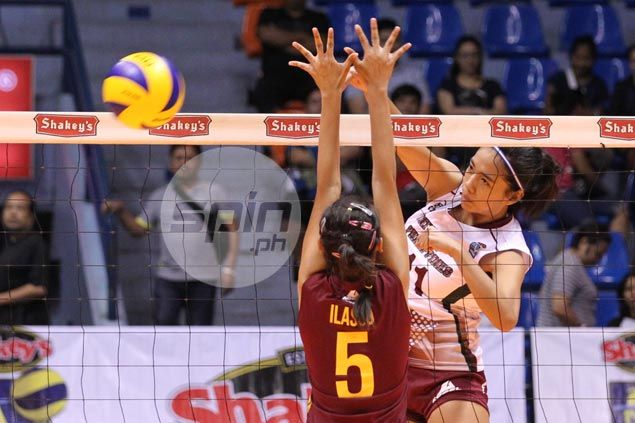 Lady Maroons make short work of PUP to break Shakey's V-League duck