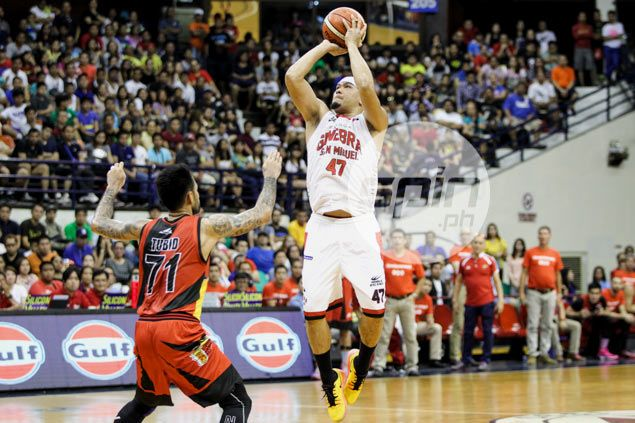 Cone expecting 'tough match-ups' as Ginebra backcourt takes on Terrence Romeo and Co.