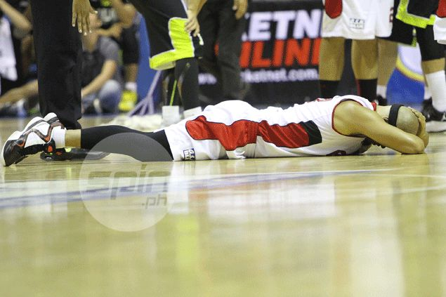 Find out why Ginebra star Mark Caguioa refuses to undergo an MRI on banged-up hip: 'Scary'
