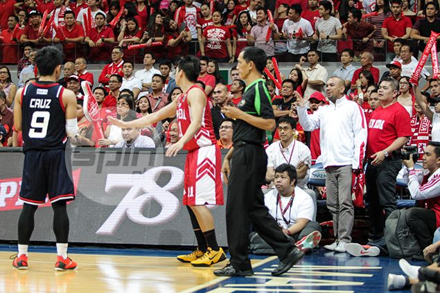 Letran coach says Mark Cruz lost cool after San Beda fan cursed him from ringside