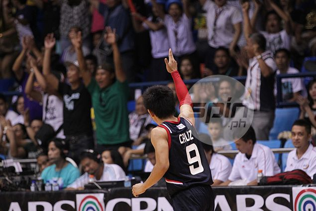 Mark Cruz out to cap Letran career with a championship before thinking of PBA career