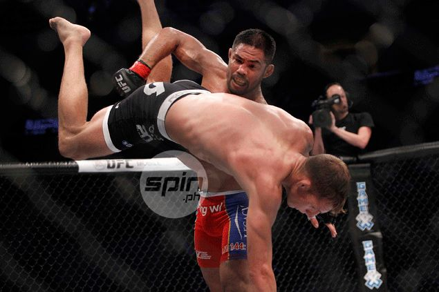 Mark Munoz lives up to expectations by winning UFC farewell fight in PH homecoming