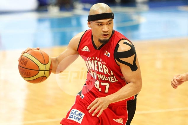 Ginebra guard Mark Caguioa remains a question mark for PBA All-Star Game