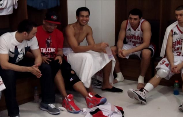 VIDEO: Caguioa fears injury will keep him out of action for far too long