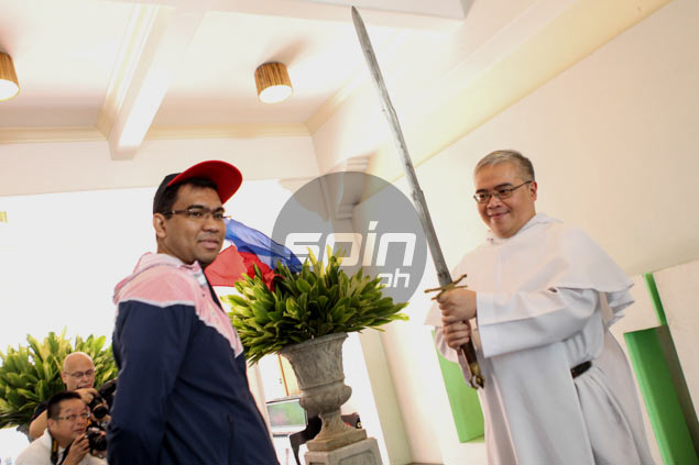 Jeff Napa formally introduced as Letran Knights head coach
