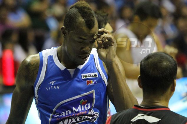 Nothing certain about Marqus Blakely's stint with Purefoods in Commissioner's Cup