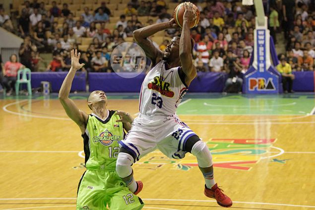 Purefoods' Marqus Blakely proves he's up to the task even against bigger imports in Commissioner's Cup