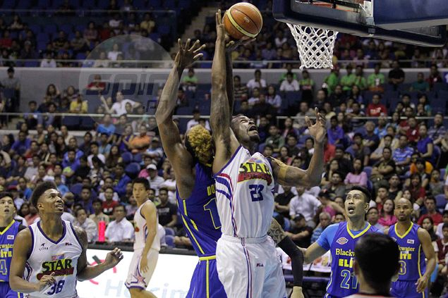 Coach Tim Cone grateful for Marqus Blakely's work in short stint as Hotshots' stand-in import