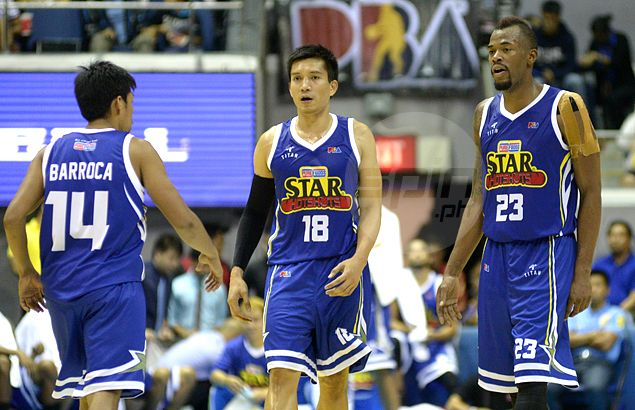 Star Hotshots test mettle of Mahindra Enforcers in main game of PBA Governors Cup opener