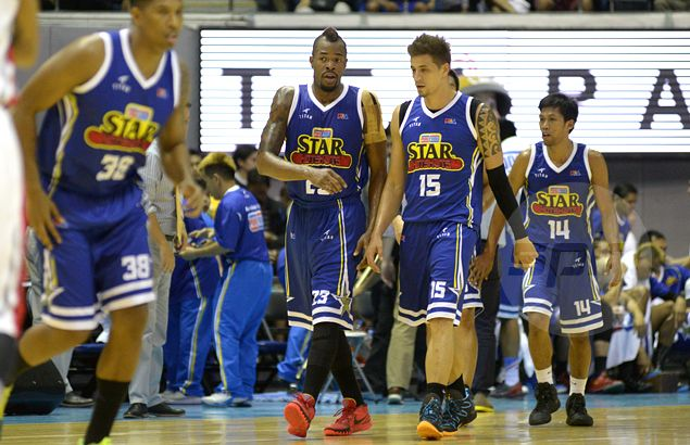 Purefoods giving Marqus Blakely one run against Blackwater as Daniel Orton 'adjusts to teammates'