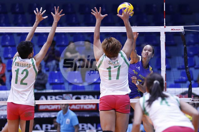 Air Force scores straight sets win over Laoag to draw first blood in V-League semis series