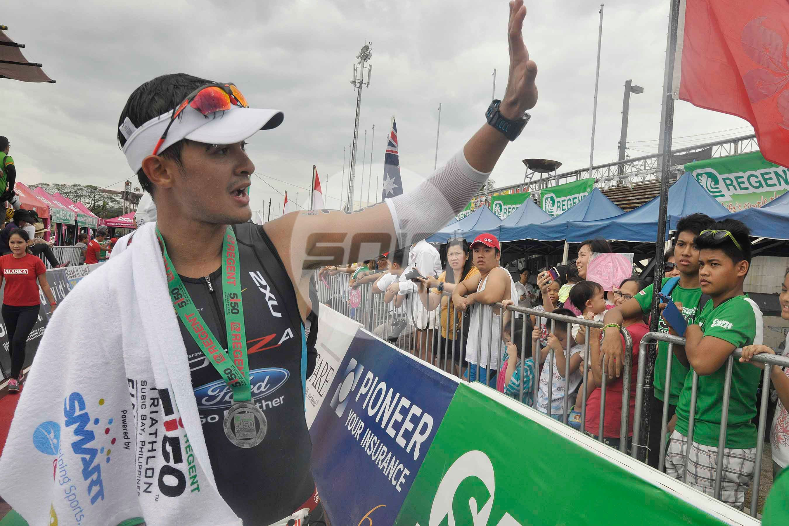 Matteo Guidicelli followed dad's lead - and found a whole new 'family' in triathlon
