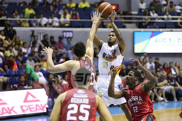 Maverick Ahanmisi unfazed in battling another crowd favorite in either SMB or Star in semis