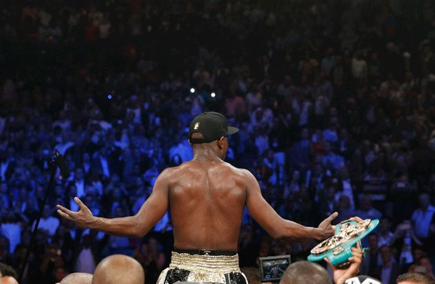 Zion Mayweather proud to see dad overcome a fearsome fighter like Pacquiao