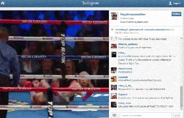'Hey, I'm gonna get you, too:' Mayweather breaks silence on Pacquiao fight with cryptic video post