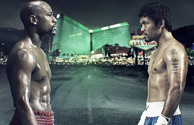 Official commercial for Pacquiao vs Mayweather builds up hype for megafight. See VIDEO